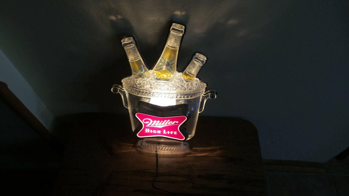 ヴィンテージ ミラービール 看板_画像2