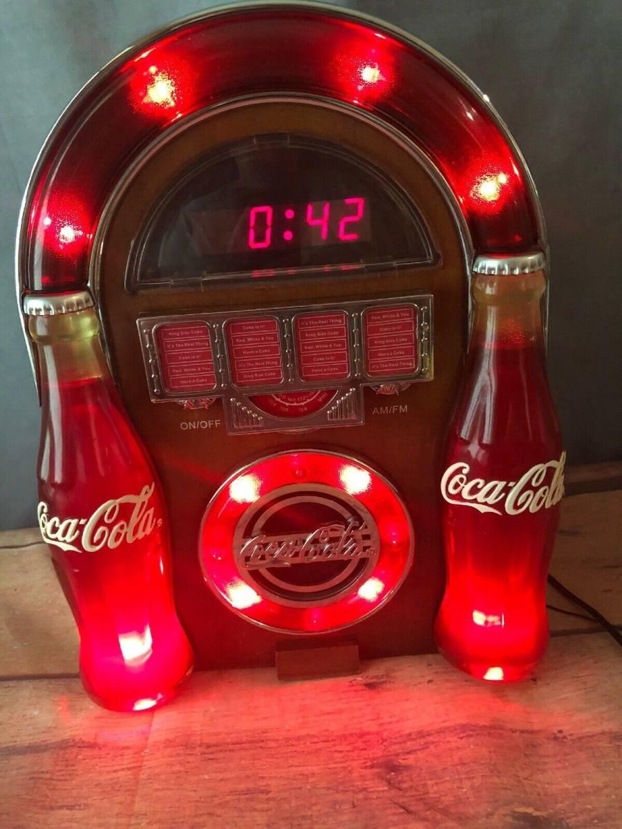 コカ・コーラ ジュークボックス AM/FMラジオ