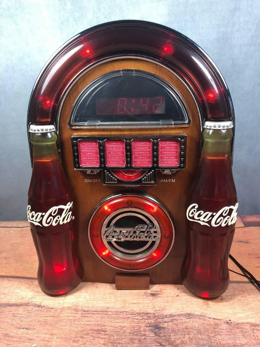 コカ・コーラ ジュークボックス AM/FMラジオ _画像3