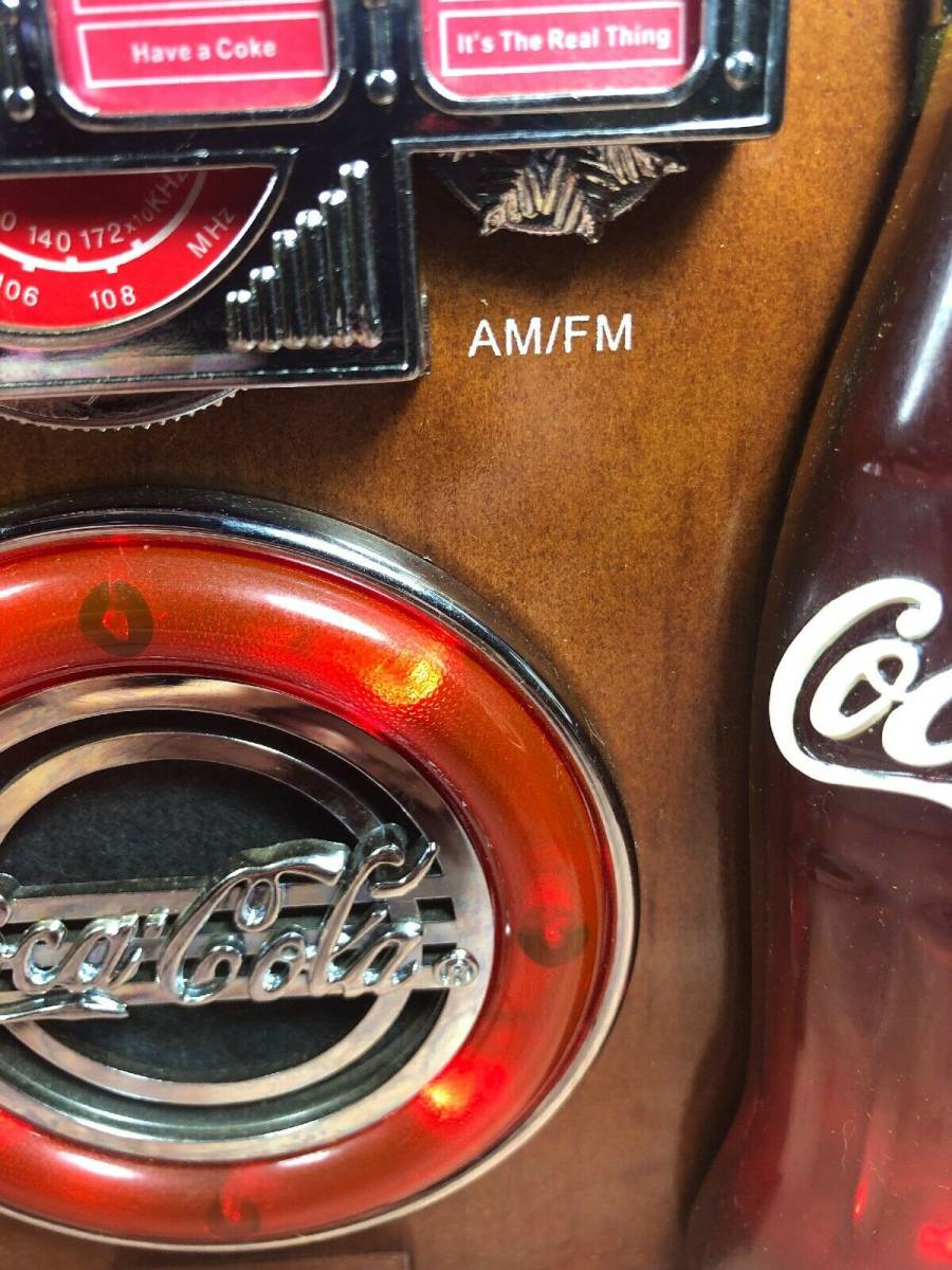 コカ・コーラ ジュークボックス AM/FMラジオ _画像7