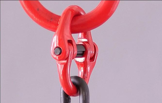 (▽′)ψ《新品未使用》スリング3本フック荷重2トンの合金鋼鍛造強力バックルクランプ長さ約100cm_画像6
