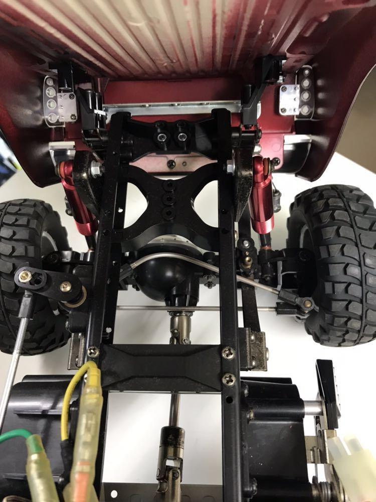 ラジコン タミヤ フォード F-350 ハイリフト 完成品 ジャンク品 _画像5