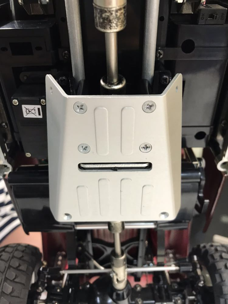 ラジコン タミヤ フォード F-350 ハイリフト 完成品 ジャンク品 _画像7