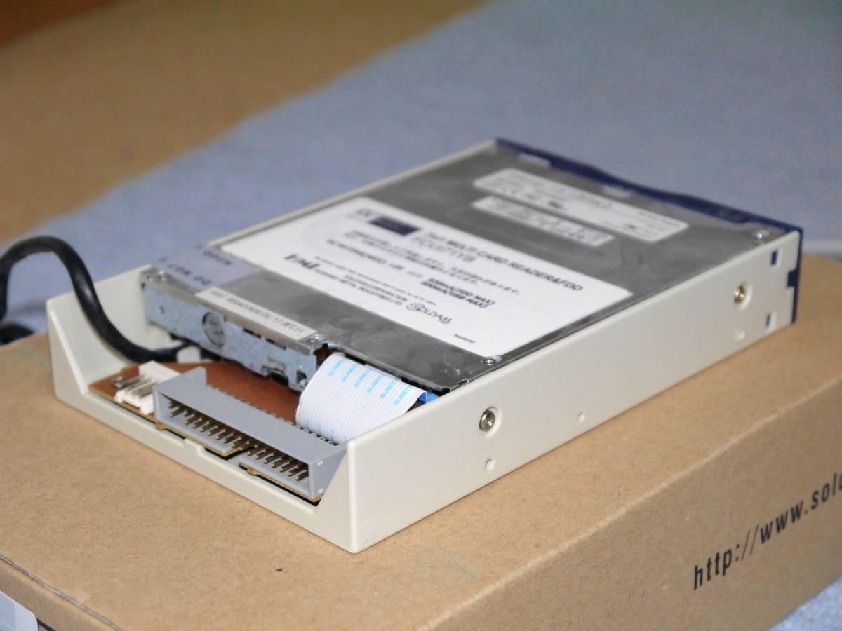 ■星野金属工業 WiNDy Mule III ver.2 メモリカードリーダー&FDD FCUI71YB ブルー_画像4