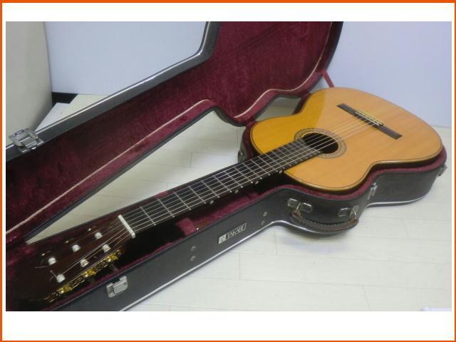 ◇◆茶位 幸信/新堀ギター◆クラシックギター◆NP-30S◆1985年製・ハードケース付・美品◆◇
