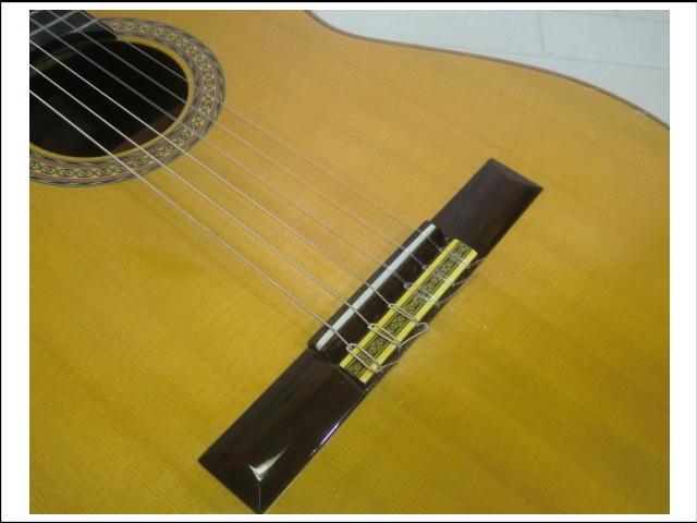 ◇◆茶位 幸信/新堀ギター◆クラシックギター◆NP-30S◆1985年製・ハードケース付・美品◆◇_画像3