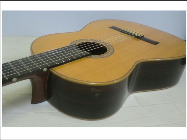 ◇◆茶位 幸信/新堀ギター◆クラシックギター◆NP-30S◆1985年製・ハードケース付・美品◆◇_画像4