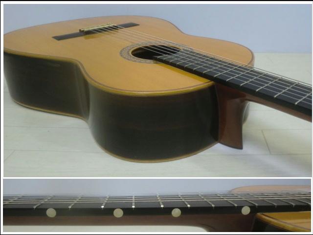 ◇◆茶位 幸信/新堀ギター◆クラシックギター◆NP-30S◆1985年製・ハードケース付・美品◆◇_画像5