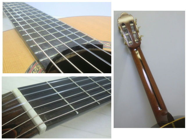 ◇◆茶位 幸信/新堀ギター◆クラシックギター◆NP-30S◆1985年製・ハードケース付・美品◆◇_画像6