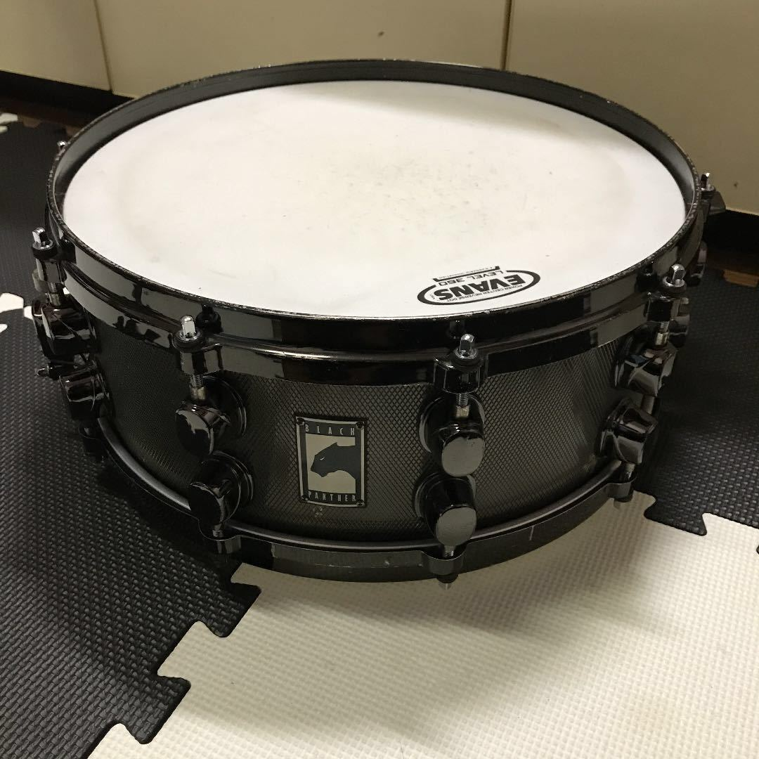 Mapex Black Panther Snare Solid Steel 3/5mm 中古 メイペックス dw TAMA