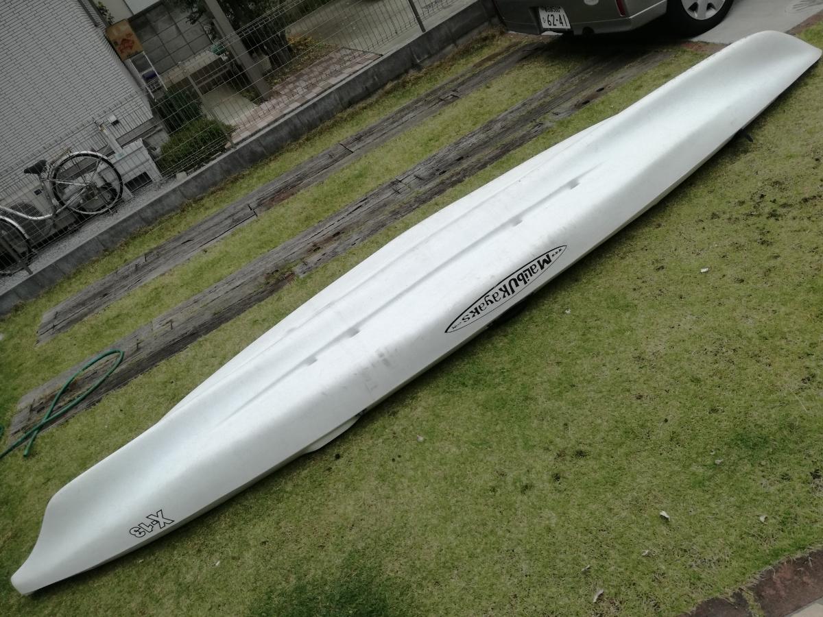 【値下げ】マリブカヤックス X13 魚探、パドル、ライフジャケット等セット 【埼玉引取限定】_画像5