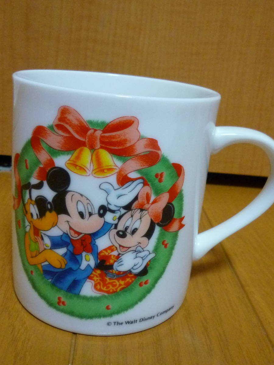 即決あり★希少未使用★1989年東京ディズニーランド 6周年記念グラス+おまけマグカップ★ミッキーマウス、ミッキーマウス、TDL★_画像5