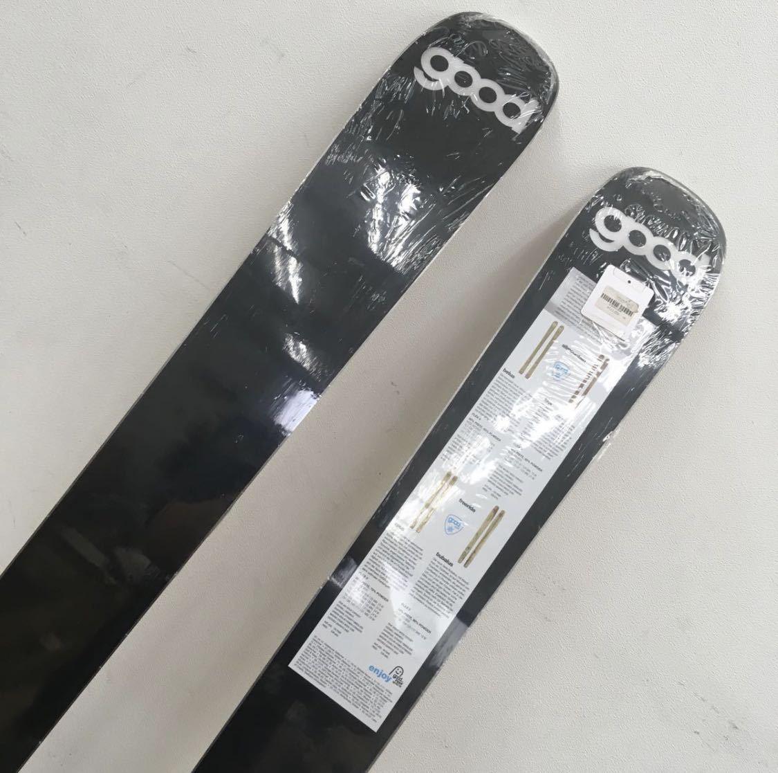 新品限定品 Goodschi apus 183cm143-111-131 無垢材ハンドクラフト! ノーズロッカー テレマーク 山スキー バックカントリー カーボン仕様_画像4