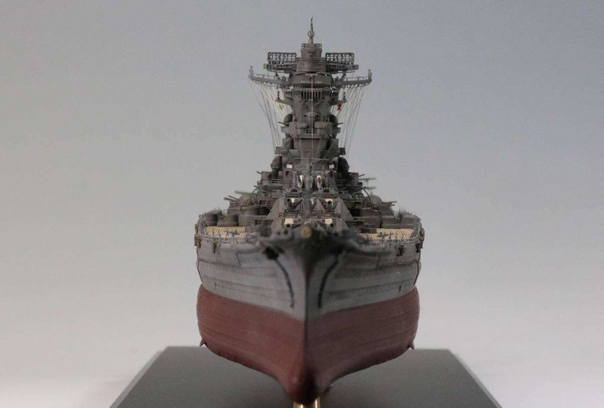 ★1/700 日本海軍戦艦 大和 塗装済み完成品 ピットロード★_画像9