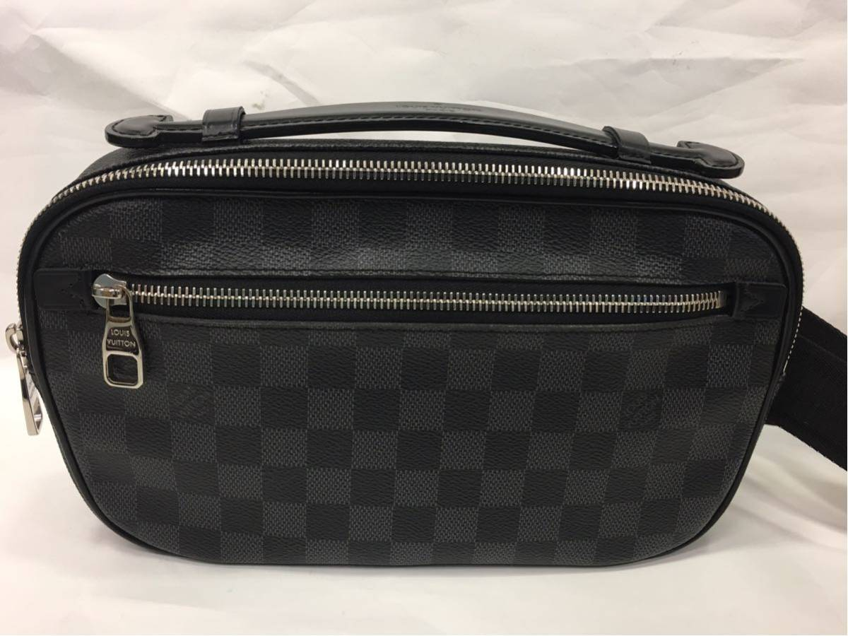 LOUIS VUITTON ルイヴィトン ダミエグラフィット アンプレール ボディバッグ N41289 A87_画像2