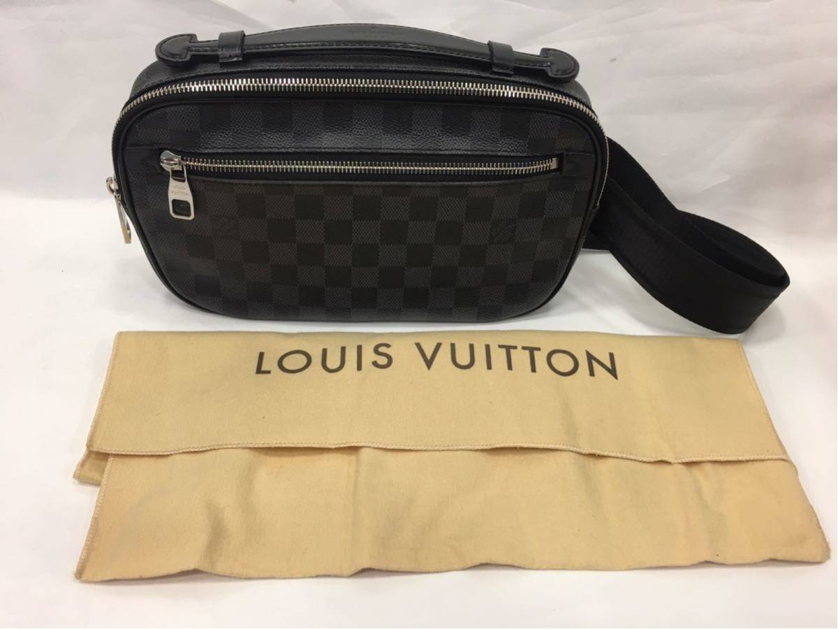 LOUIS VUITTON ルイヴィトン ダミエグラフィット アンプレール ボディバッグ N41289 A87_画像1