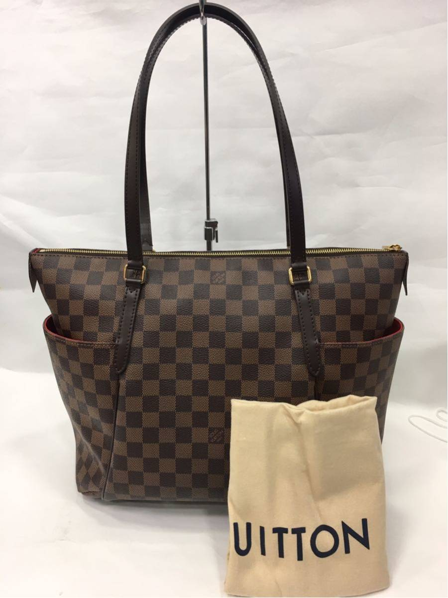 LOUIS VUITTON ルイヴィトン ダミエ トータリーMM トートバッグ N41281 A85