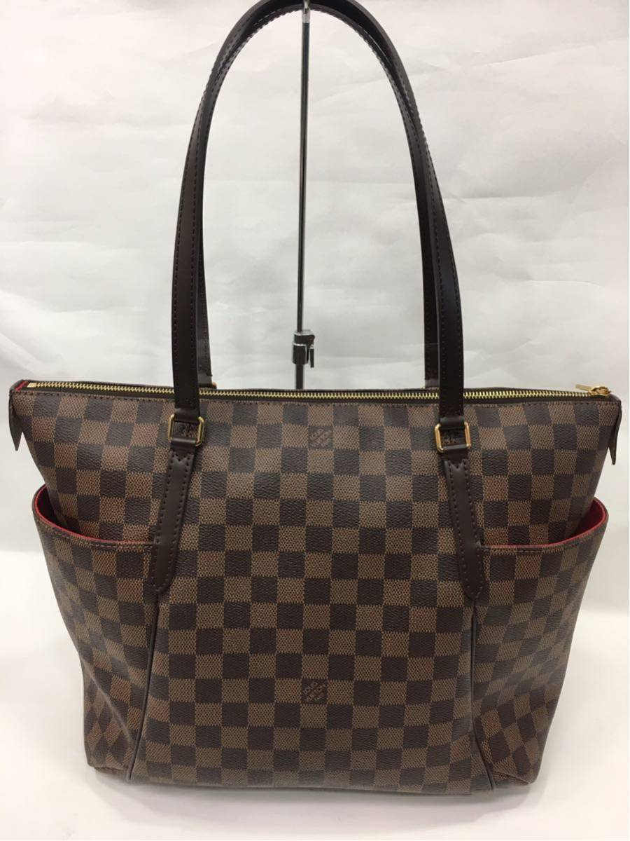 LOUIS VUITTON ルイヴィトン ダミエ トータリーMM トートバッグ N41281 A85_画像2