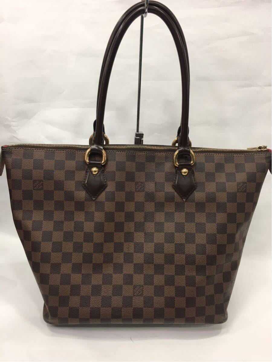 LOUIS VUITTON ルイヴィトン ダミエ サレヤMM トートバッグ N51182 A89_画像2