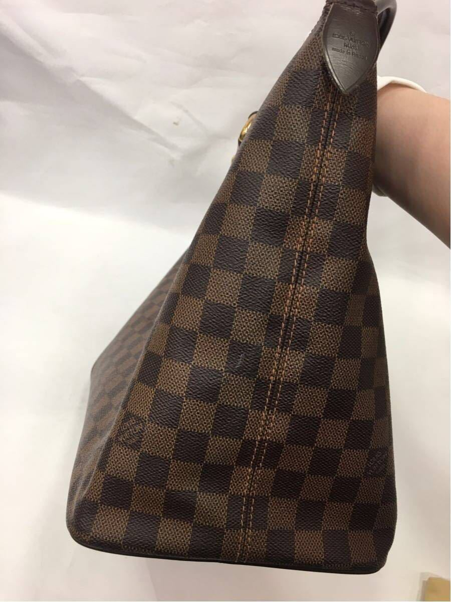 LOUIS VUITTON ルイヴィトン ダミエ サレヤMM トートバッグ N51182 A89_画像5