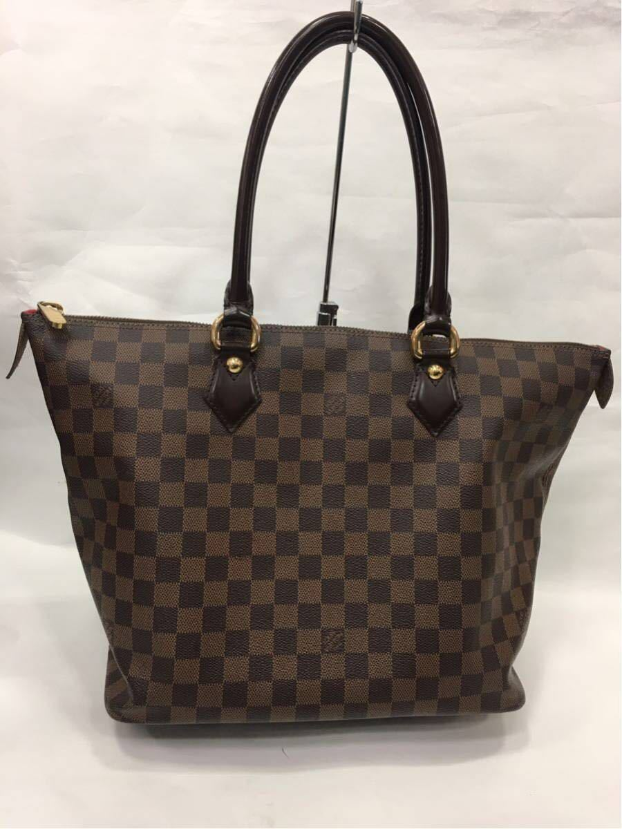LOUIS VUITTON ルイヴィトン ダミエ サレヤMM トートバッグ N51182 A89_画像1