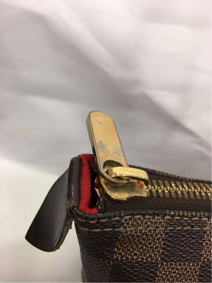LOUIS VUITTON ルイヴィトン ダミエ サレヤMM トートバッグ N51182 A89_画像4