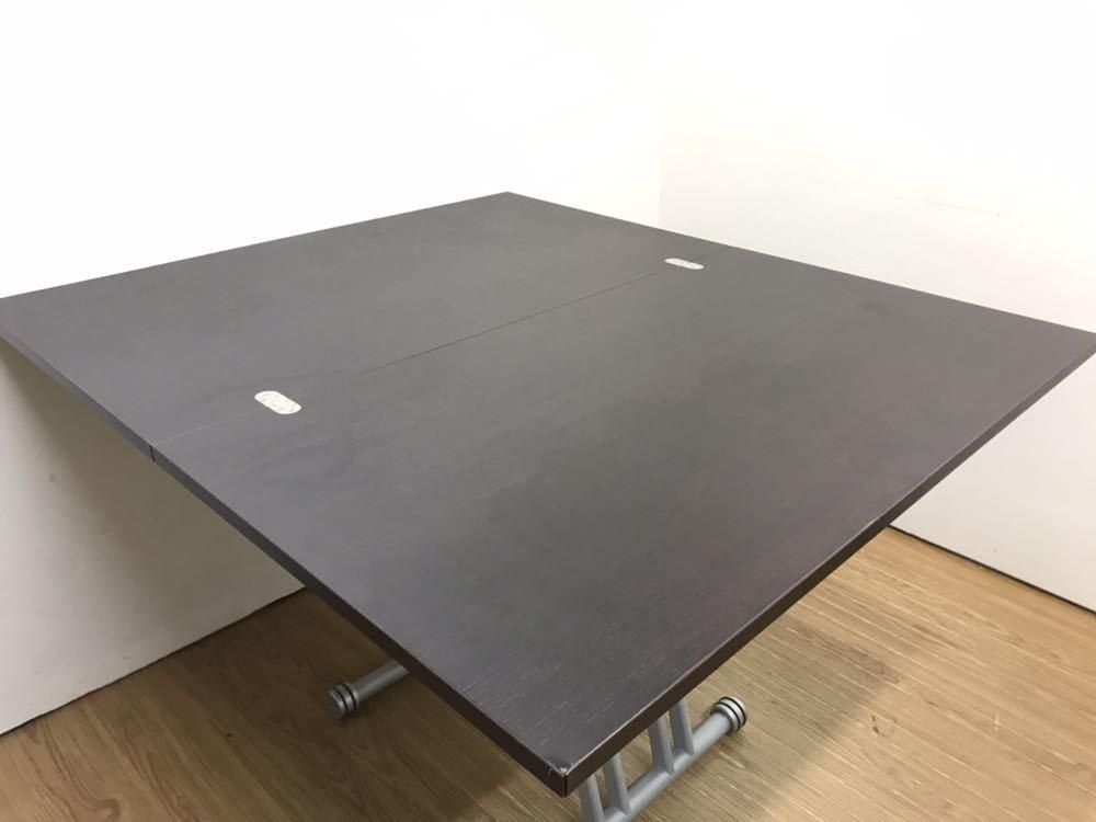 ○OZZIO オッジオ 昇降テーブル リフティングテーブル リフトアップテーブル 拡張 伸縮 イタリア製○_画像4