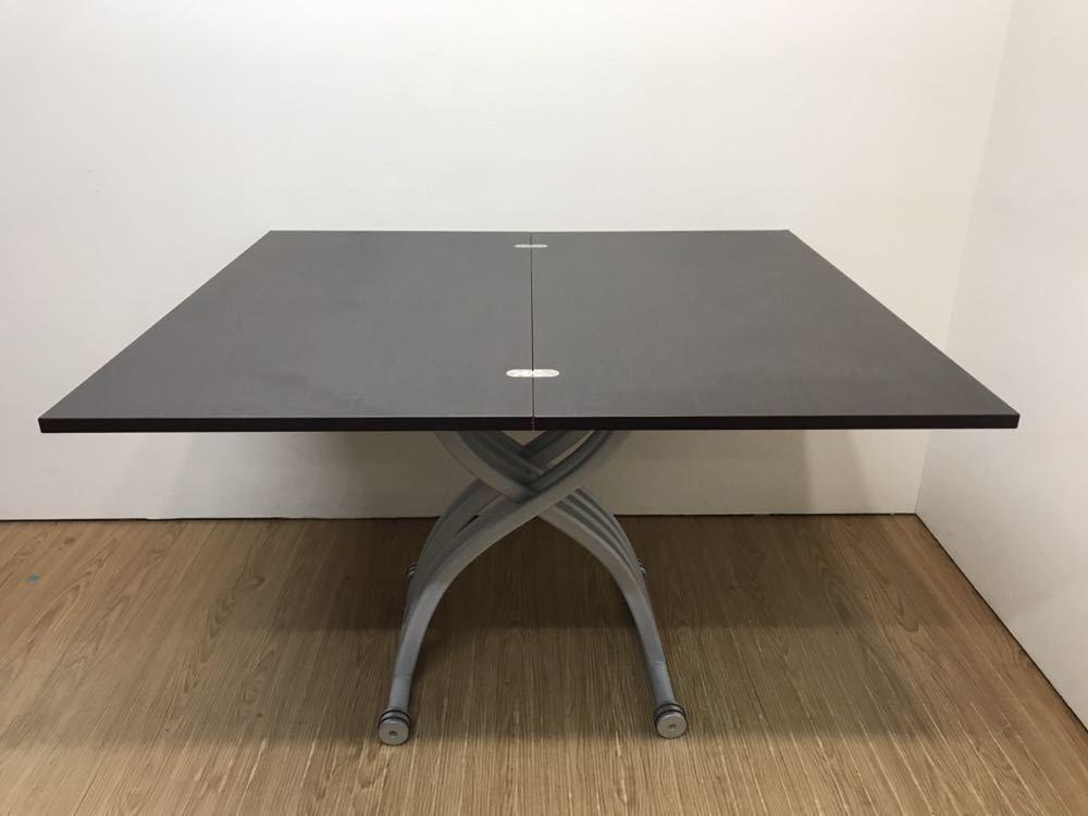 ○OZZIO オッジオ 昇降テーブル リフティングテーブル リフトアップテーブル 拡張 伸縮 イタリア製○_画像2