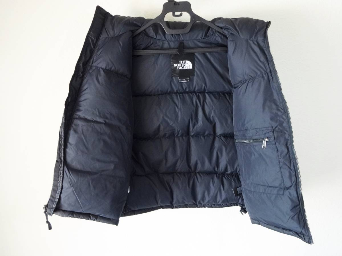 新品 1996年レトロデザイン 米国M ノースフェイス ヌプシベスト 700フィル L XL ヌプシダウンジャケット The North Face Nuptse Vest_画像3