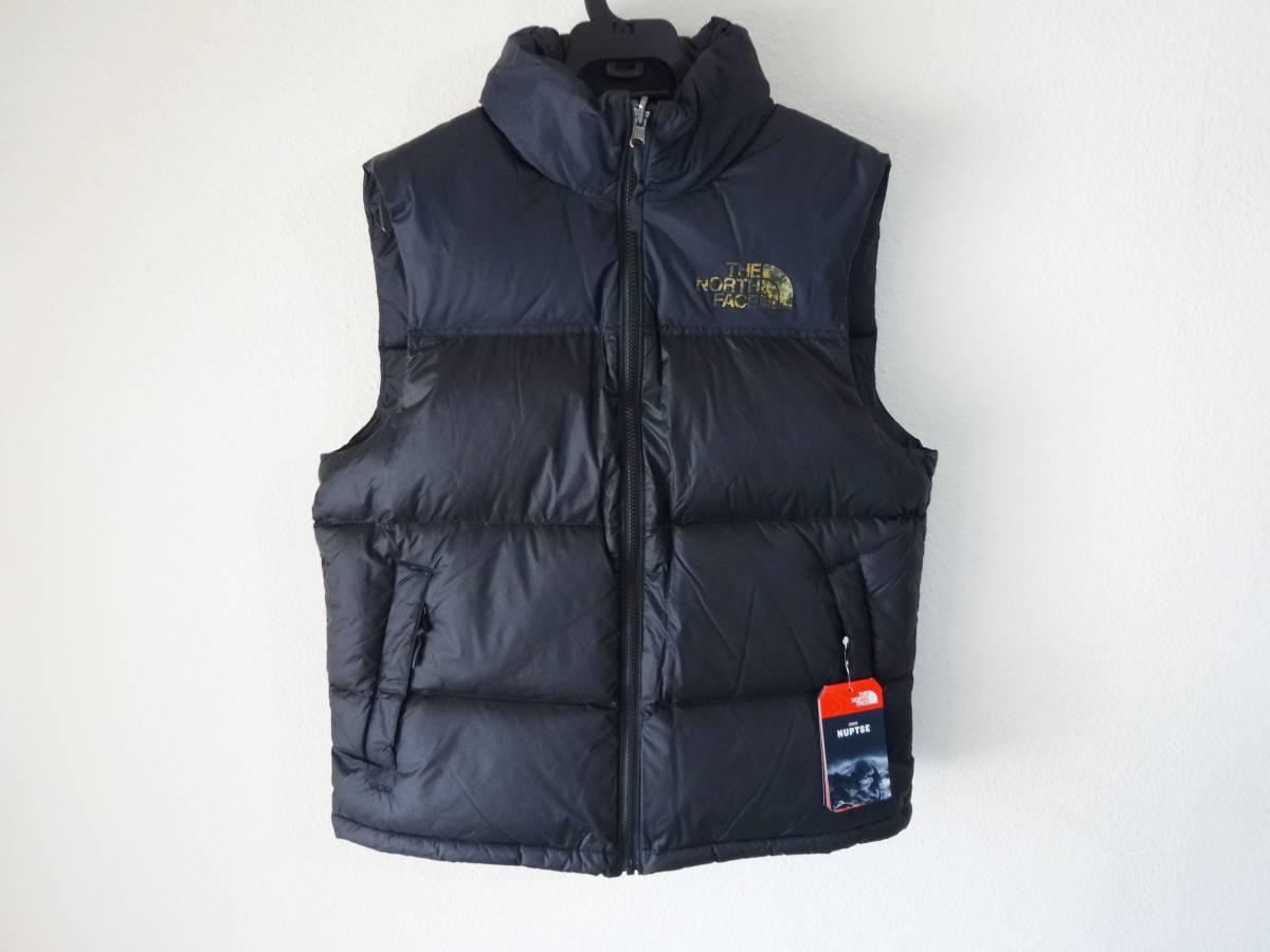 新品 1996年レトロデザイン 米国M ノースフェイス ヌプシベスト 700フィル L XL ヌプシダウンジャケット The North Face Nuptse Vest_画像1