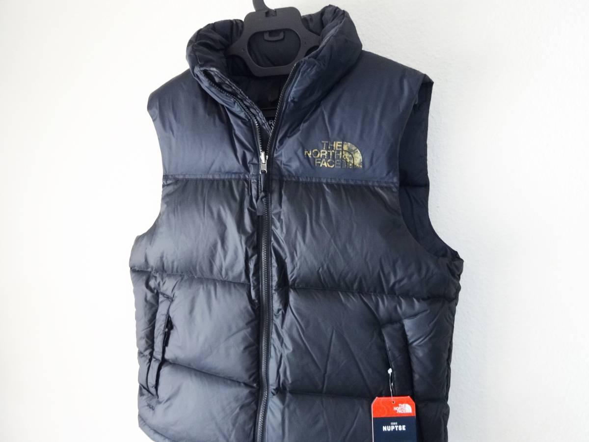 新品 1996年レトロデザイン 米国M ノースフェイス ヌプシベスト 700フィル L XL ヌプシダウンジャケット The North Face Nuptse Vest_画像4