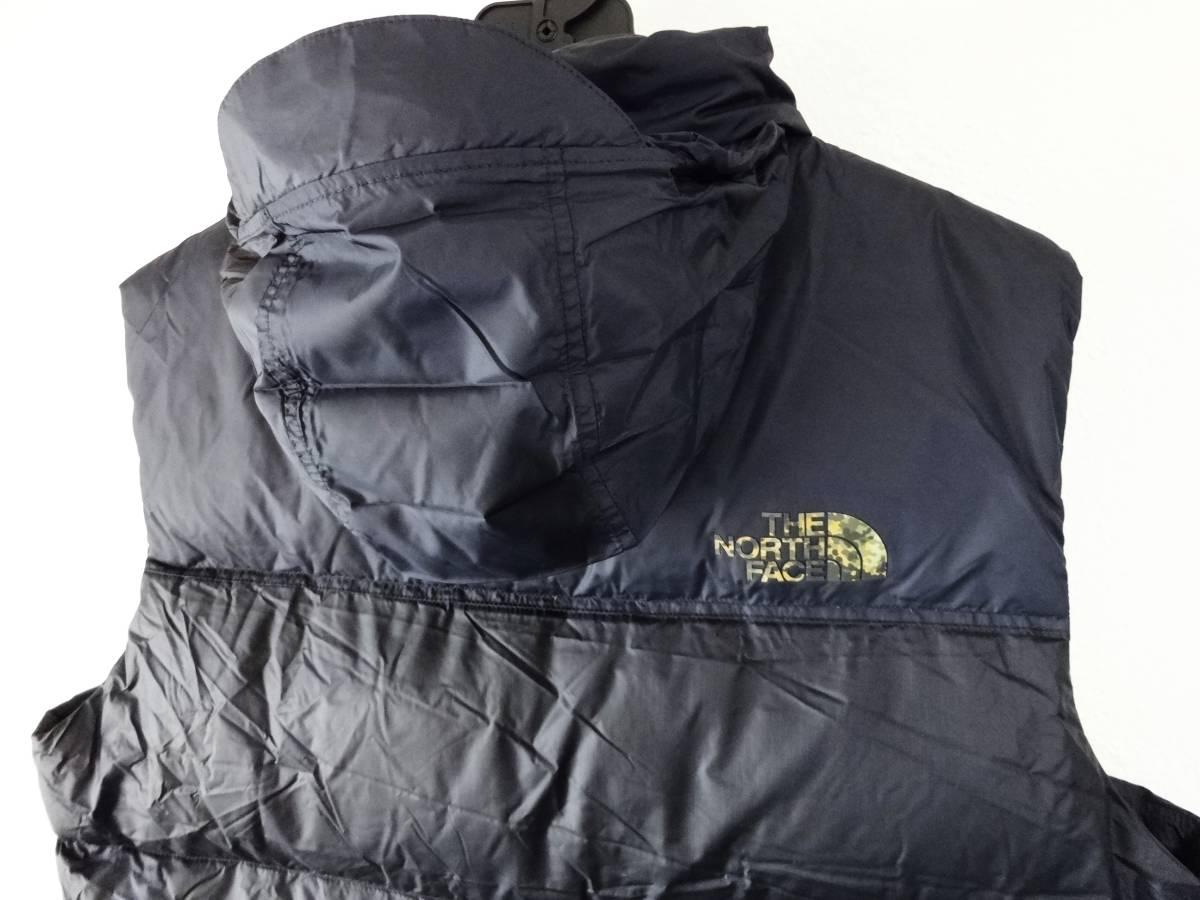 新品 1996年レトロデザイン 米国M ノースフェイス ヌプシベスト 700フィル L XL ヌプシダウンジャケット The North Face Nuptse Vest_画像5