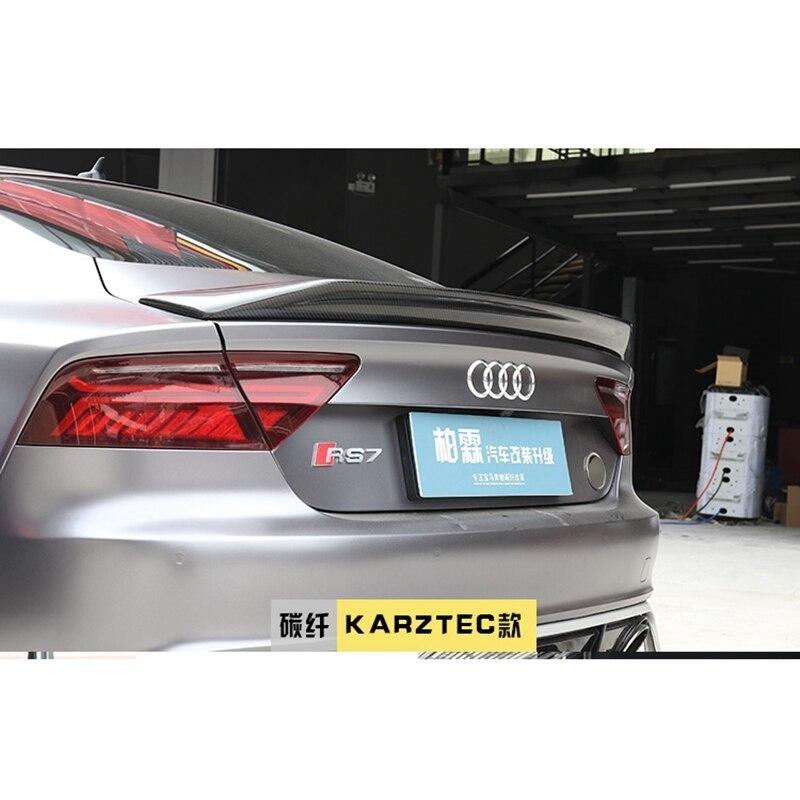 ★☆アウディ A7 S7 RS7 カーボン トランクスポイラー リアスポイラー Kスタイル stance☆★_画像3