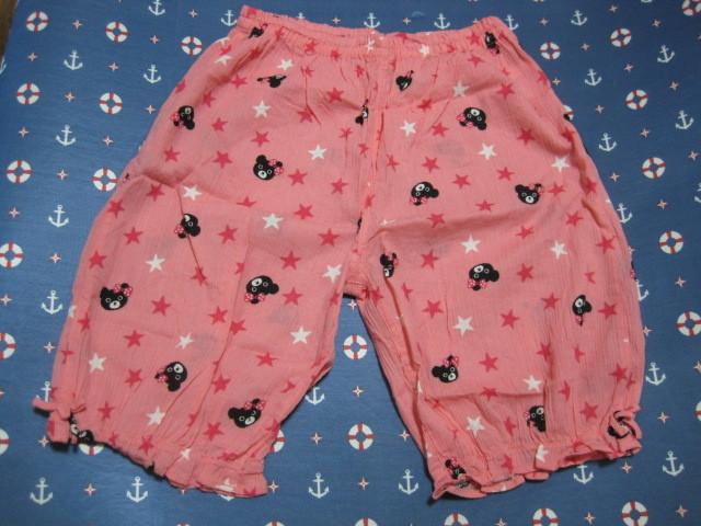 ◆ミキハウス ダブルB ステテコ パンツ L◆130~140 甚平 パジャマ ビー子ちゃん
