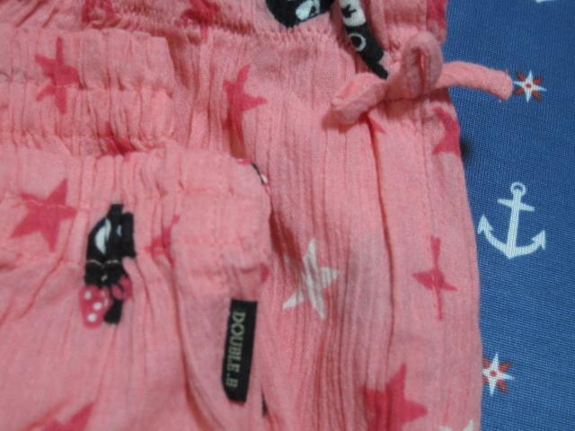 ◆ミキハウス ダブルB ステテコ パンツ L◆130~140 甚平 パジャマ ビー子ちゃん_画像2