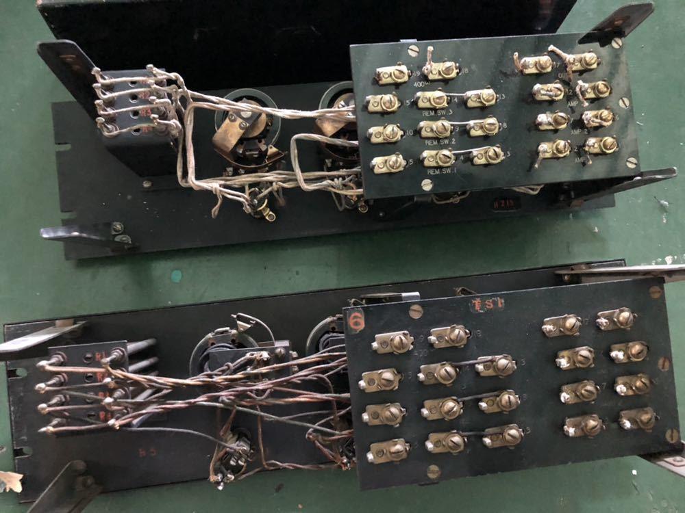 Western Electric  D94019 ミキシングPANEL 初期録音機材 ペア 2台_画像4