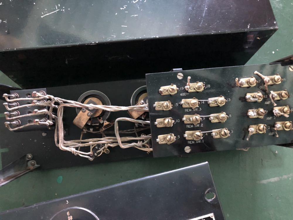 Western Electric  D94019 ミキシングPANEL 初期録音機材 ペア 2台_画像5