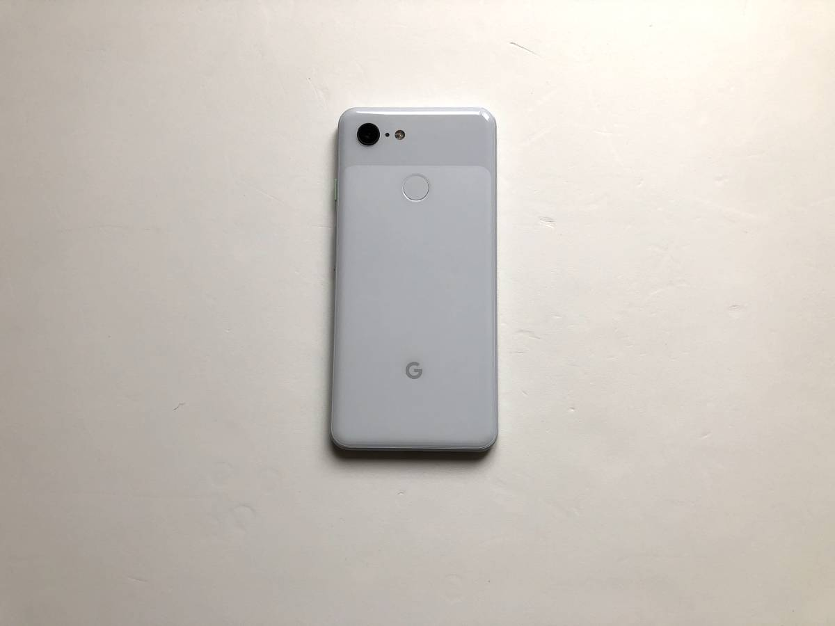 Softbank Google pixel3 64GB Clearly White 美品 simロック解除済 判定〇_画像3