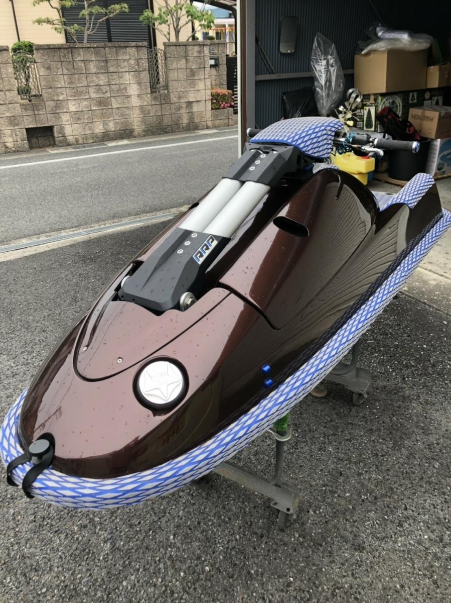 ヤマハ YAMAHA SJ760 藤澤艇 フリースタイル リックロイポール スカッパー チルトノズル ボアアップ (SJ700) 船検付