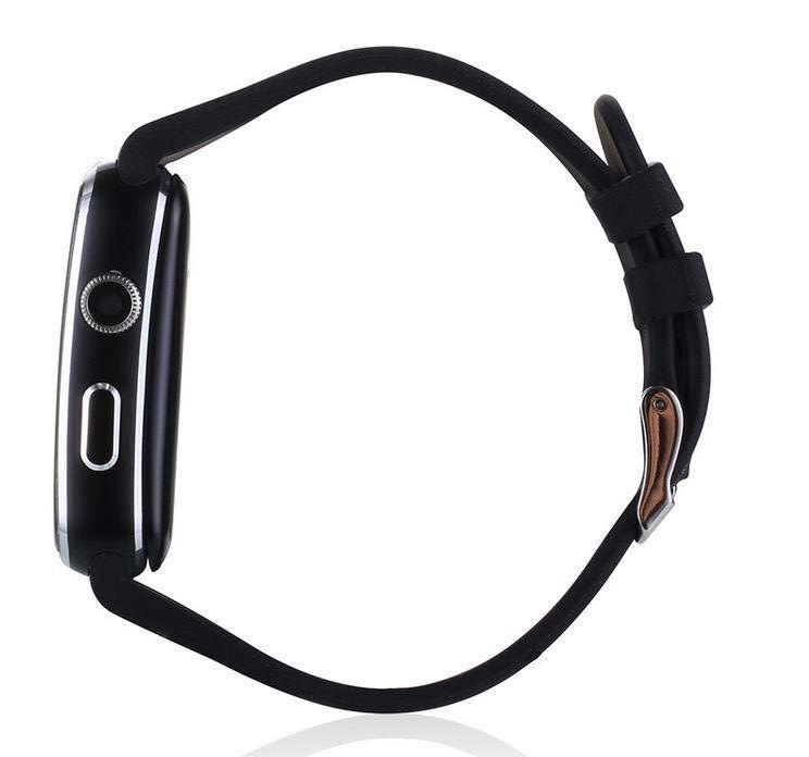 1円から 最落無し アップルウォッチ型 リューズに入った小型カメラ スマートウォッチ  黒 限定 USBコード付き 決算セール_画像5