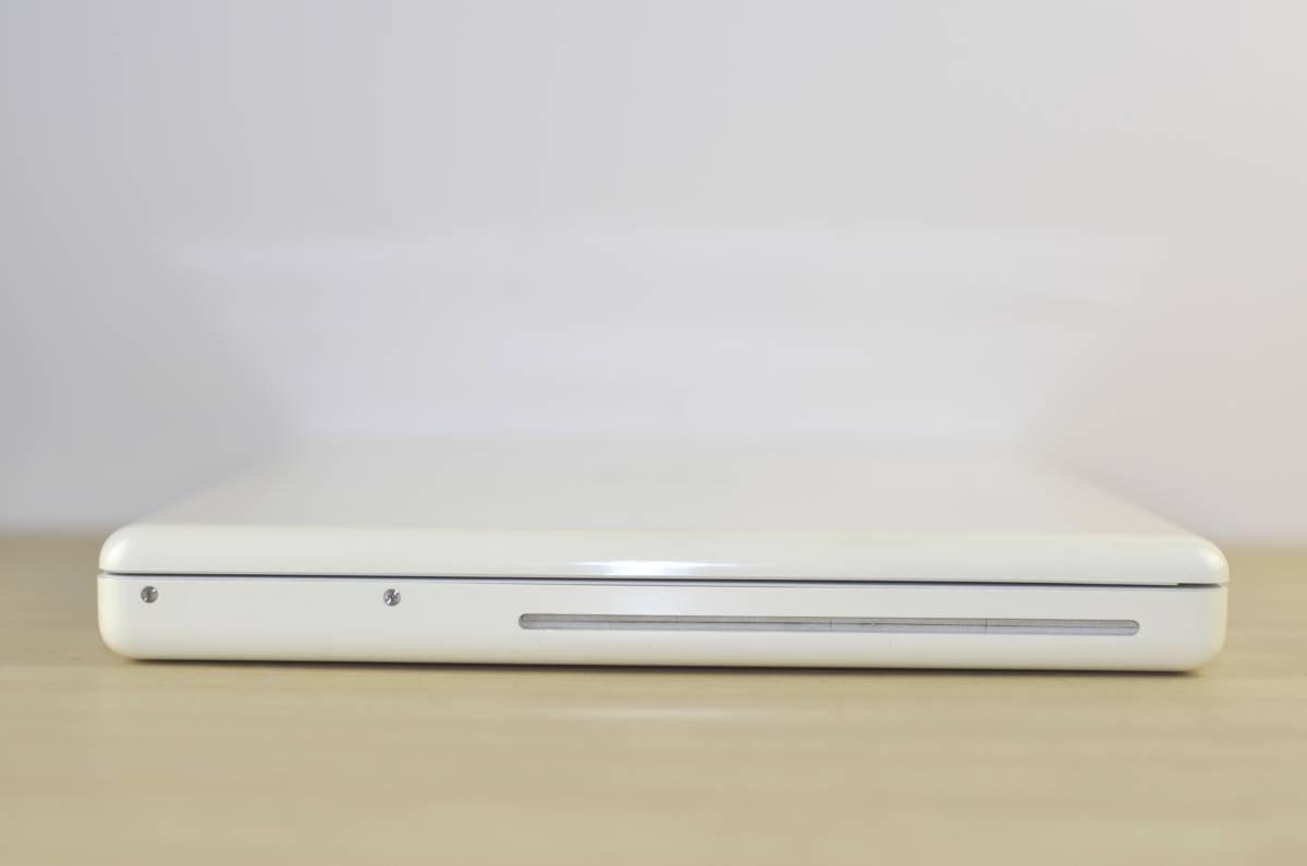 1円~MacBook (13-inch, Mid 2009) 2.13GHz Core2 Duo メモリ:2GB HDD:160GB 充放電回数:28回 ホワイト 転売OK_画像8
