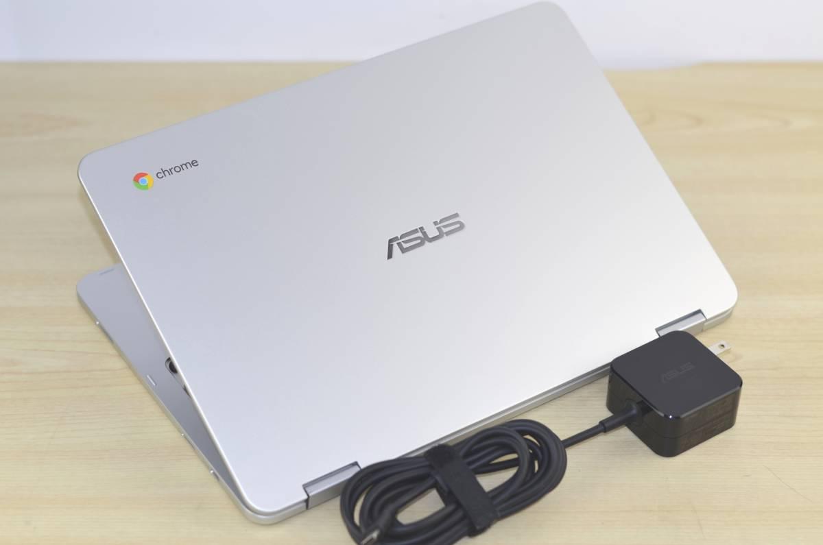 1円~ASUS ChromeBook Flip C302C Core m3 4GB 64GB 転売OK_画像4