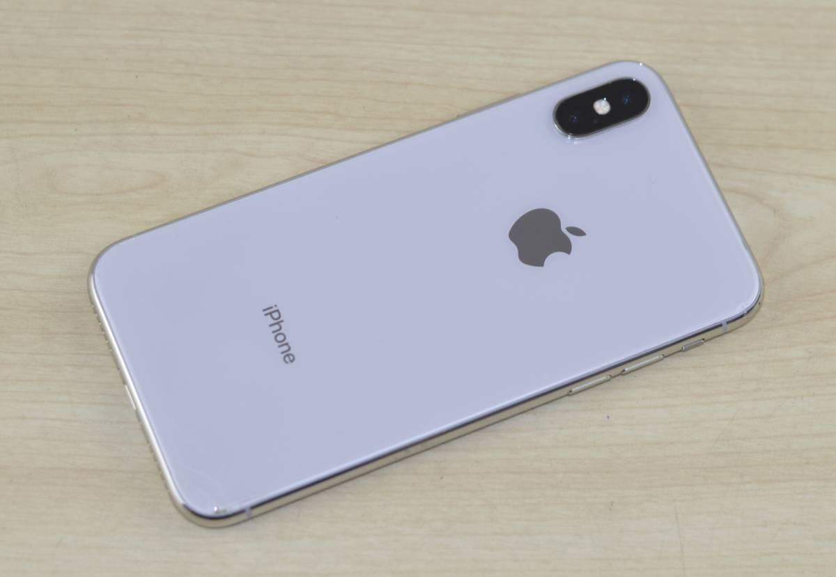 1円~ジャンク品 SIMフリー iPhone X 64GB 修理前提・オブジェ・部品取り・研究用にどうぞ!送料 クリックポスト185円 転売OK_画像2
