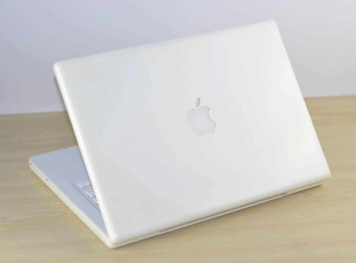 1円~MacBook (13-inch, Mid 2009) 2.13GHz Core2 Duo メモリ:2GB HDD:160GB 充放電回数:28回 ホワイト 転売OK_画像7