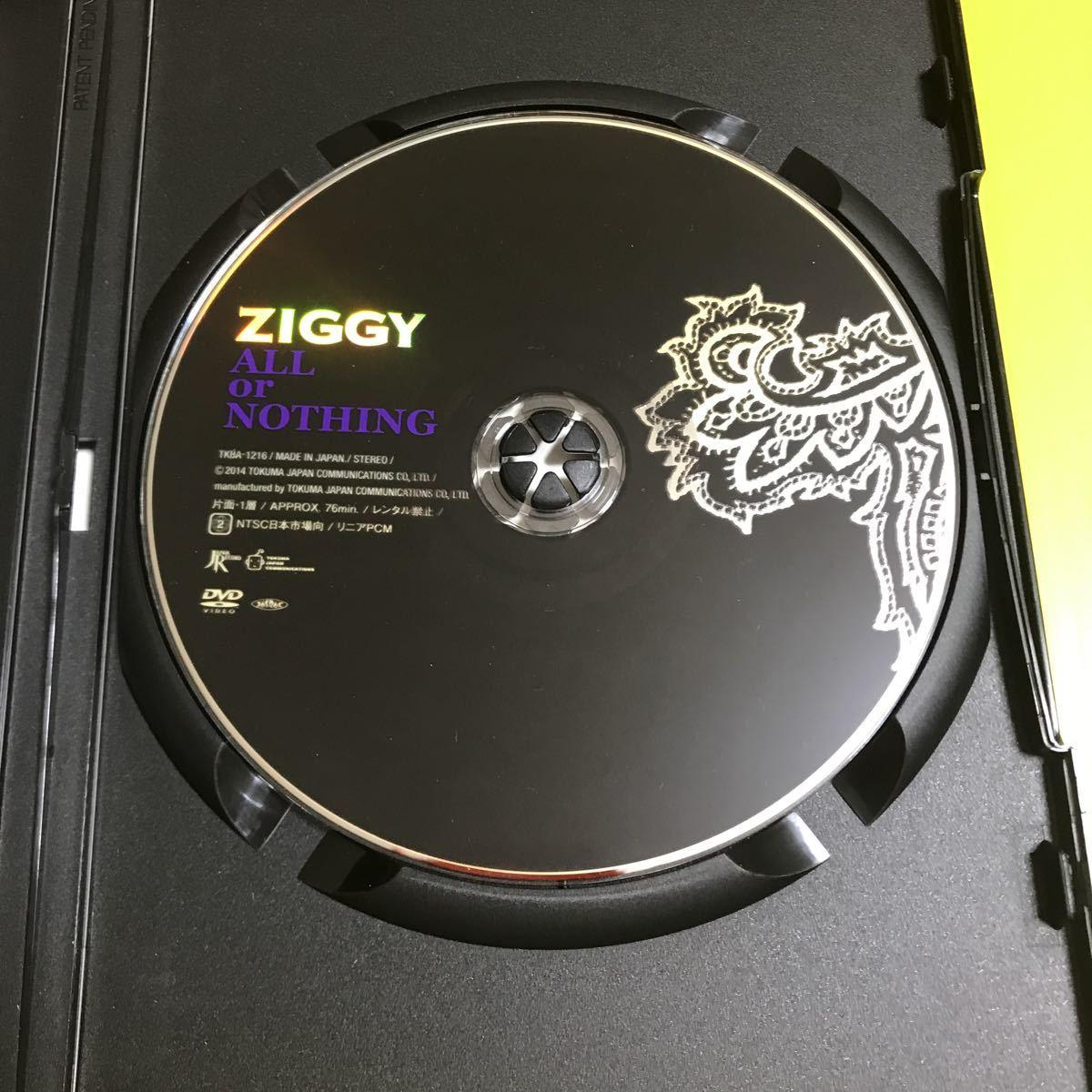 DVD   ZIGGY ALL or NOTHING  ジギー 1990.11.1国立代々木競技場第一体育館LIVE 再生確認済_画像4