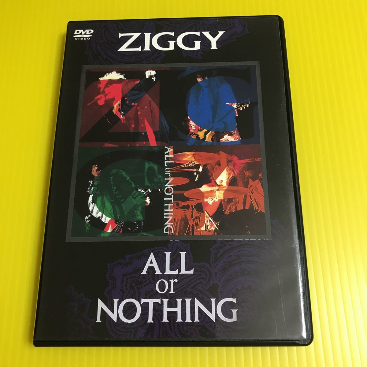 DVD   ZIGGY ALL or NOTHING  ジギー 1990.11.1国立代々木競技場第一体育館LIVE 再生確認済