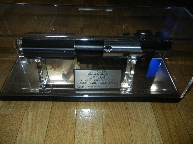 即決 中古 美品 マスターレプリカ LE AP ライトセーバー EP6 ダース ベイダー アーティスト プルーフ Master Replicas_画像1