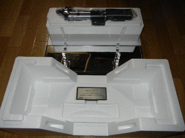 即決 中古 美品 マスターレプリカ LE AP ライトセーバー EP6 ダース ベイダー アーティスト プルーフ Master Replicas_画像5