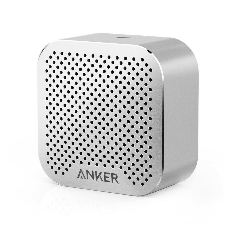 【送料無料・極美品】Anker SoundCore nano 超コンパクト Bluetoothスピーカー スペースグレー 【高品質アルミ外装 / 内臓マイク搭載】_画像2