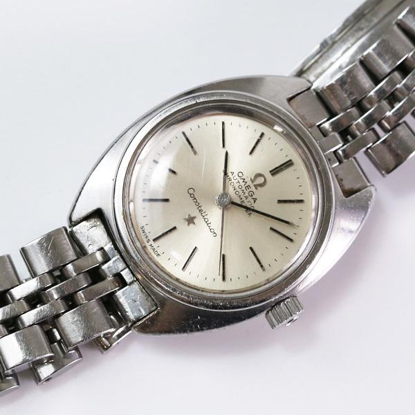 OMEGA オメガ コンステレーション クロノメーター レディース 腕時計 中古